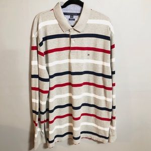 Tommy Hilfiger Classic Fit Long Sleeve Polo